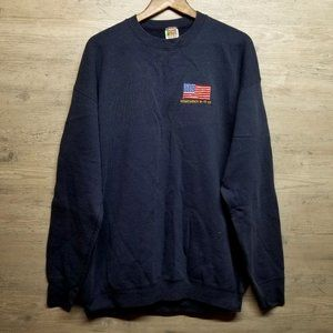 Vintage Remember 9/11 Crewneck Sweatshirt. Perfect